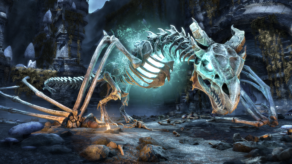 Primi dettagli sul DLC Dragon Bones per TES Online