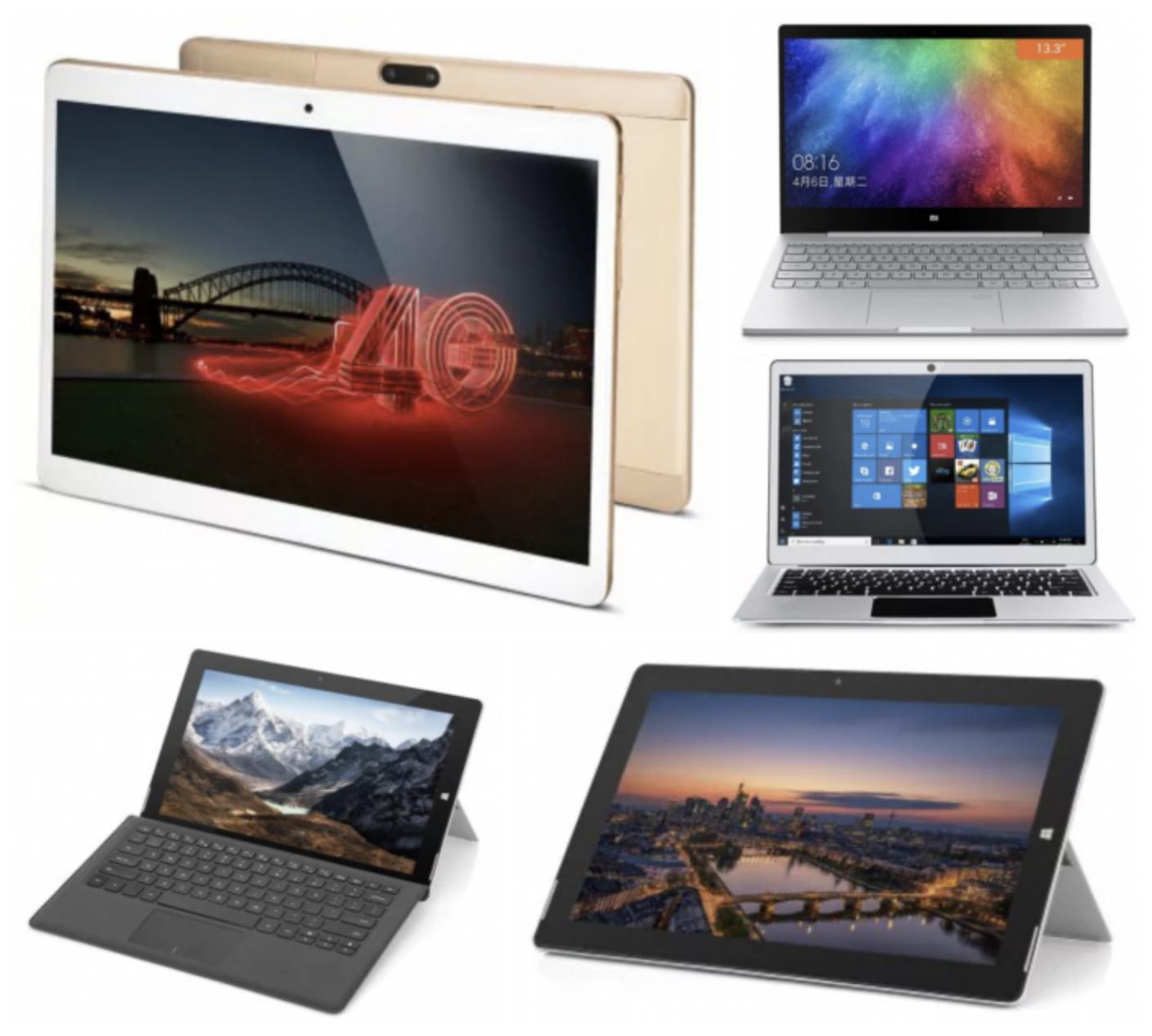 Tablet e Notebook in offerta su Gearbest