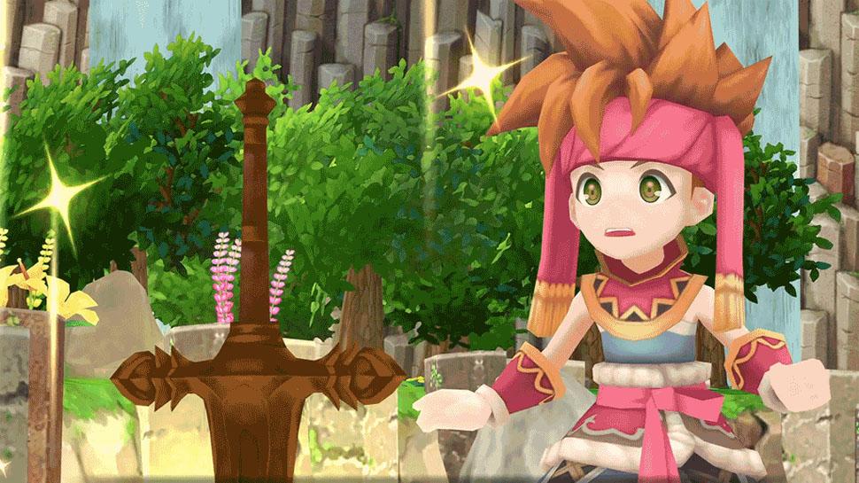Secret of Mana arriverà in formato retail anche in Europa