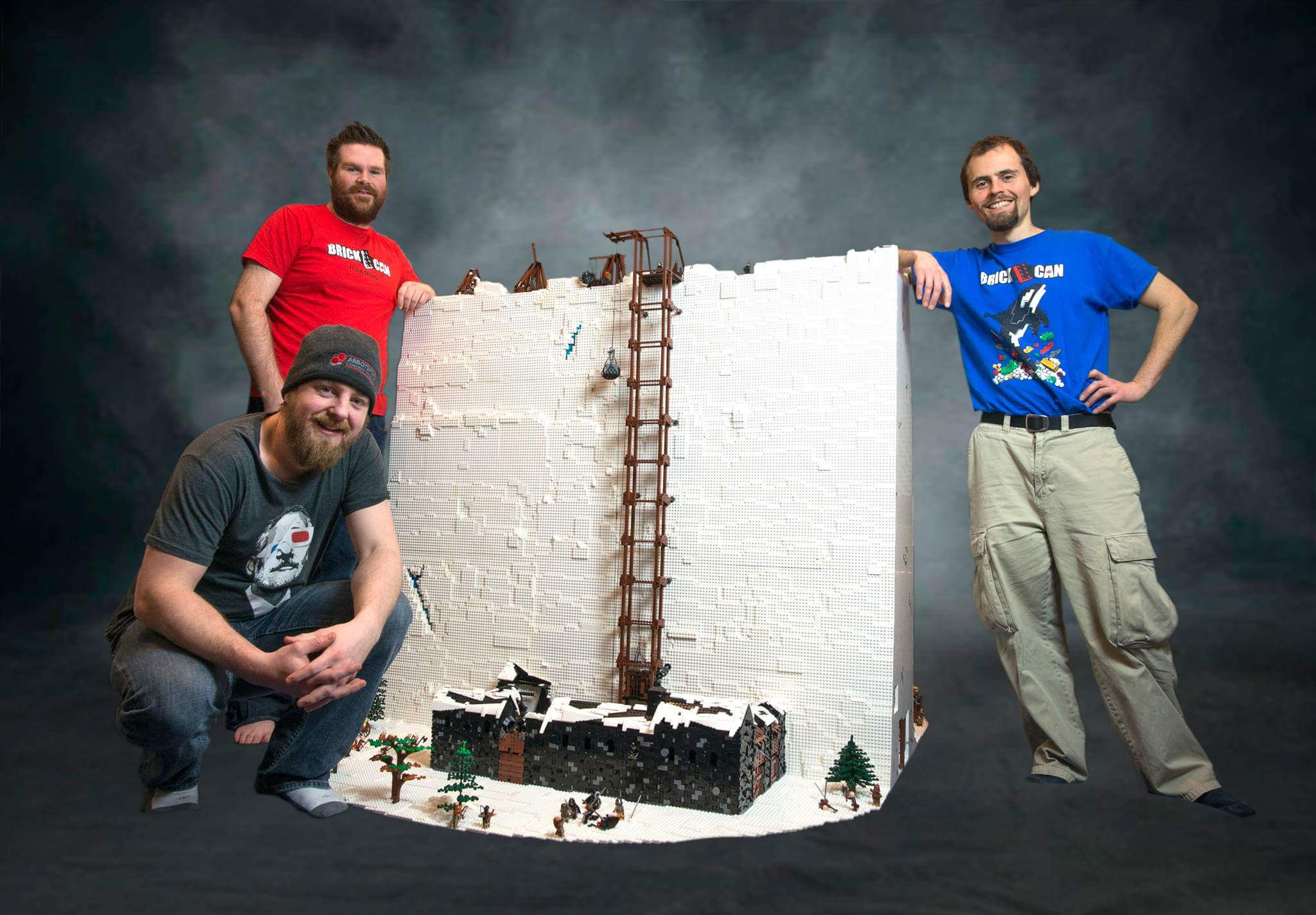 The (LEGO) Wall direttamente dalla serie tv Game fo Thrones