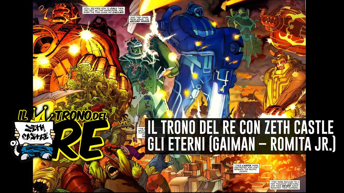 Il Trono Del Re: Gli Eterni (N. Gaiman, J. Romita Jr)
