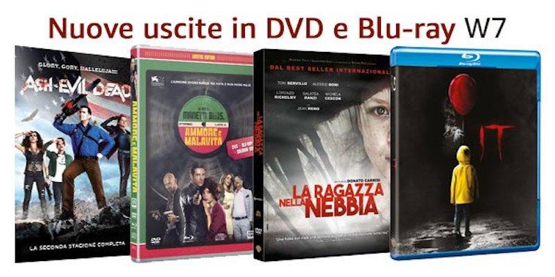 Nuove Uscite in DVD e Blu-ray, offerte e iniziative della settimana
