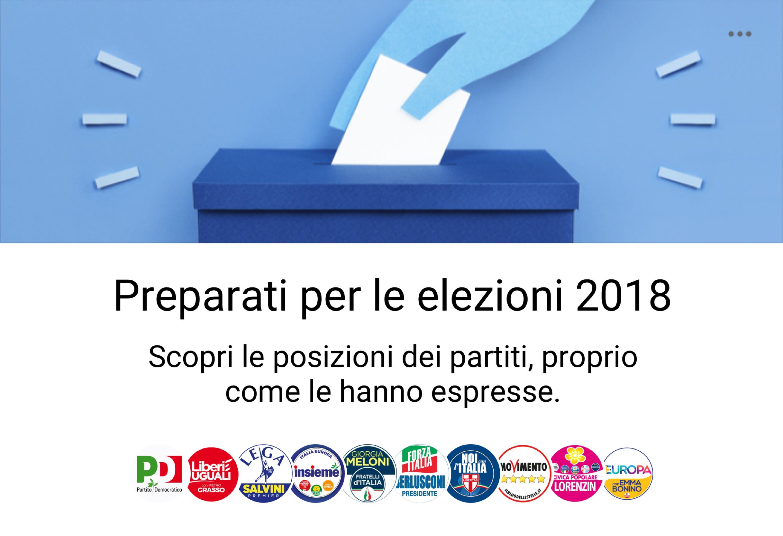 In vista delle elezioni, Facebook lancia in Italia una serie di strumenti a supporto della partecipazione civica