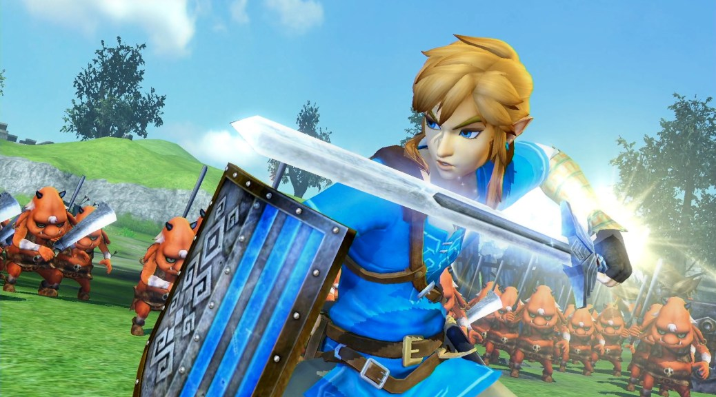 Una comparativa per Hyrule Warriors tra Wii U e Switch