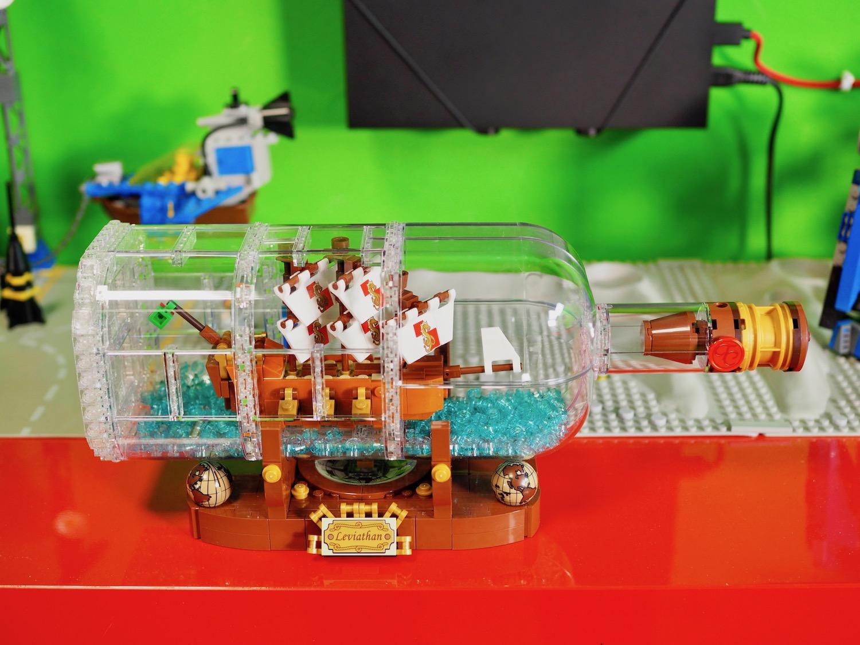 Lego 21313 Ship in a Bottle