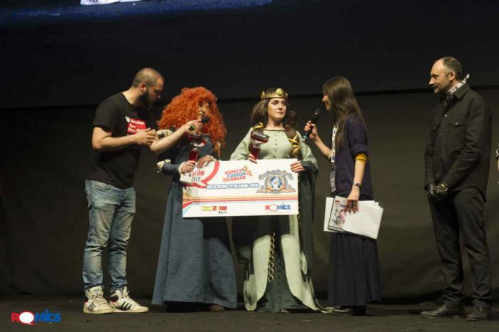 Romics-Cosplay-Award Romics aprile 2018 XXIII edizione