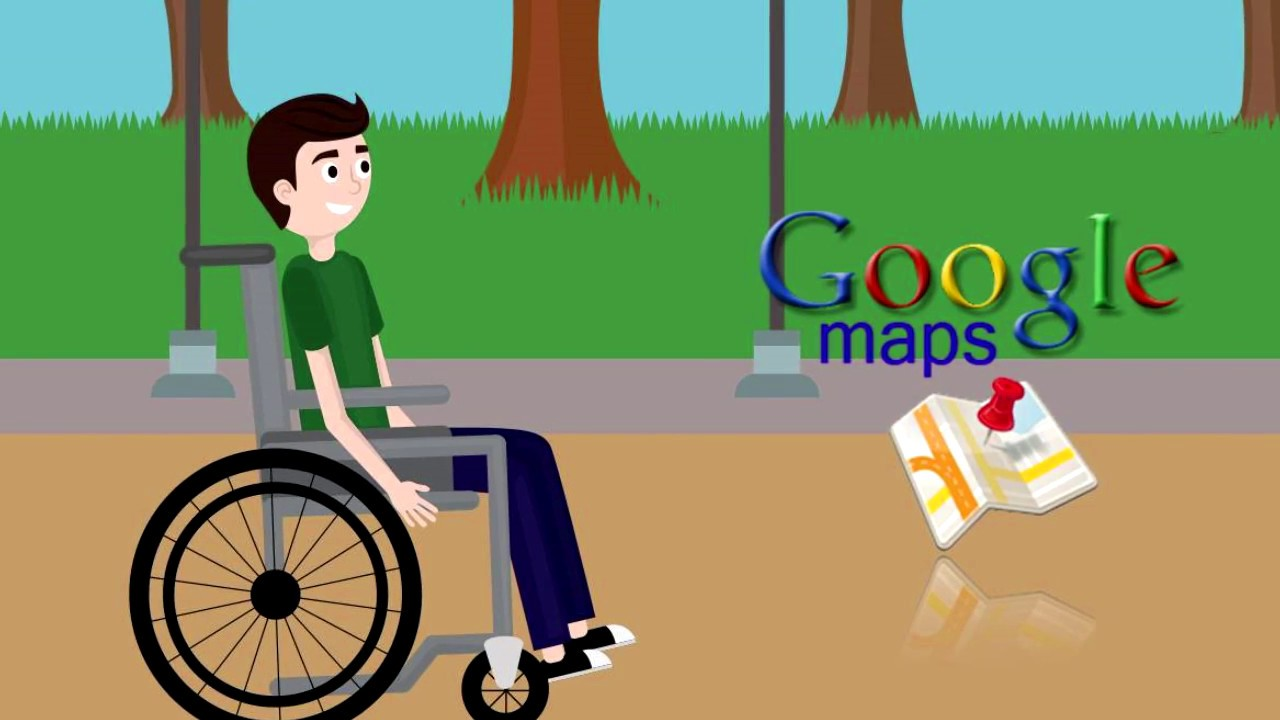 maps sedia rotelle