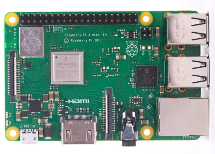 Upgrade hardware per il nuovo modello del Raspberry Pi 3