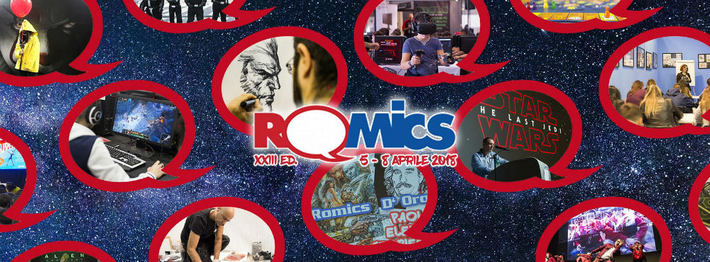 Romics, dal 5 all'8 aprile la XXIII edizione