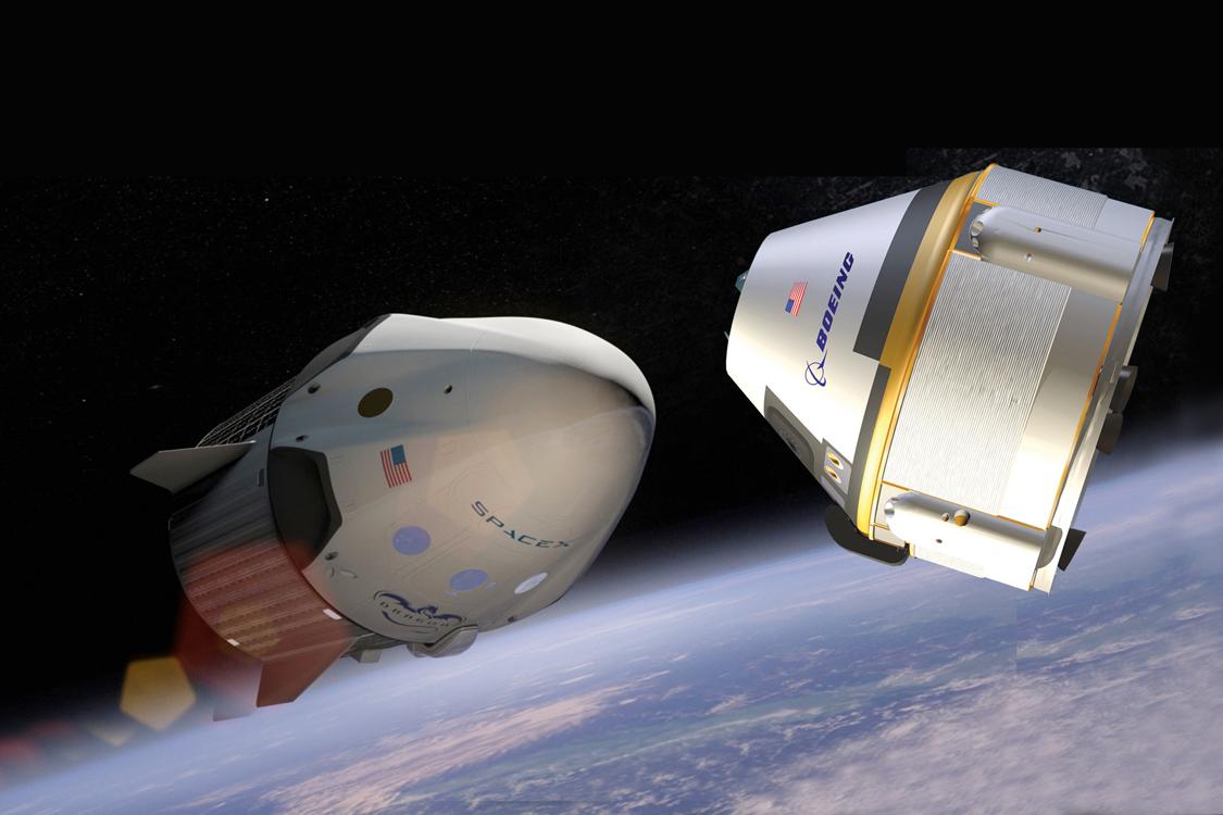 SpaceX e Boeing sempre più vicini al volo spaziale con equipaggio