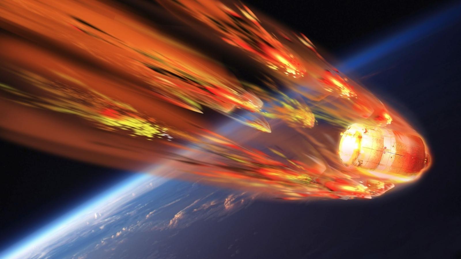 La caduta di Tiangong-1 verso la Terra seguita in real time