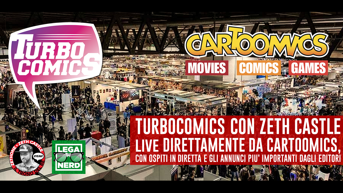 Turbocomics live da Cartoomics: il punto su DC Comics con RW Lion