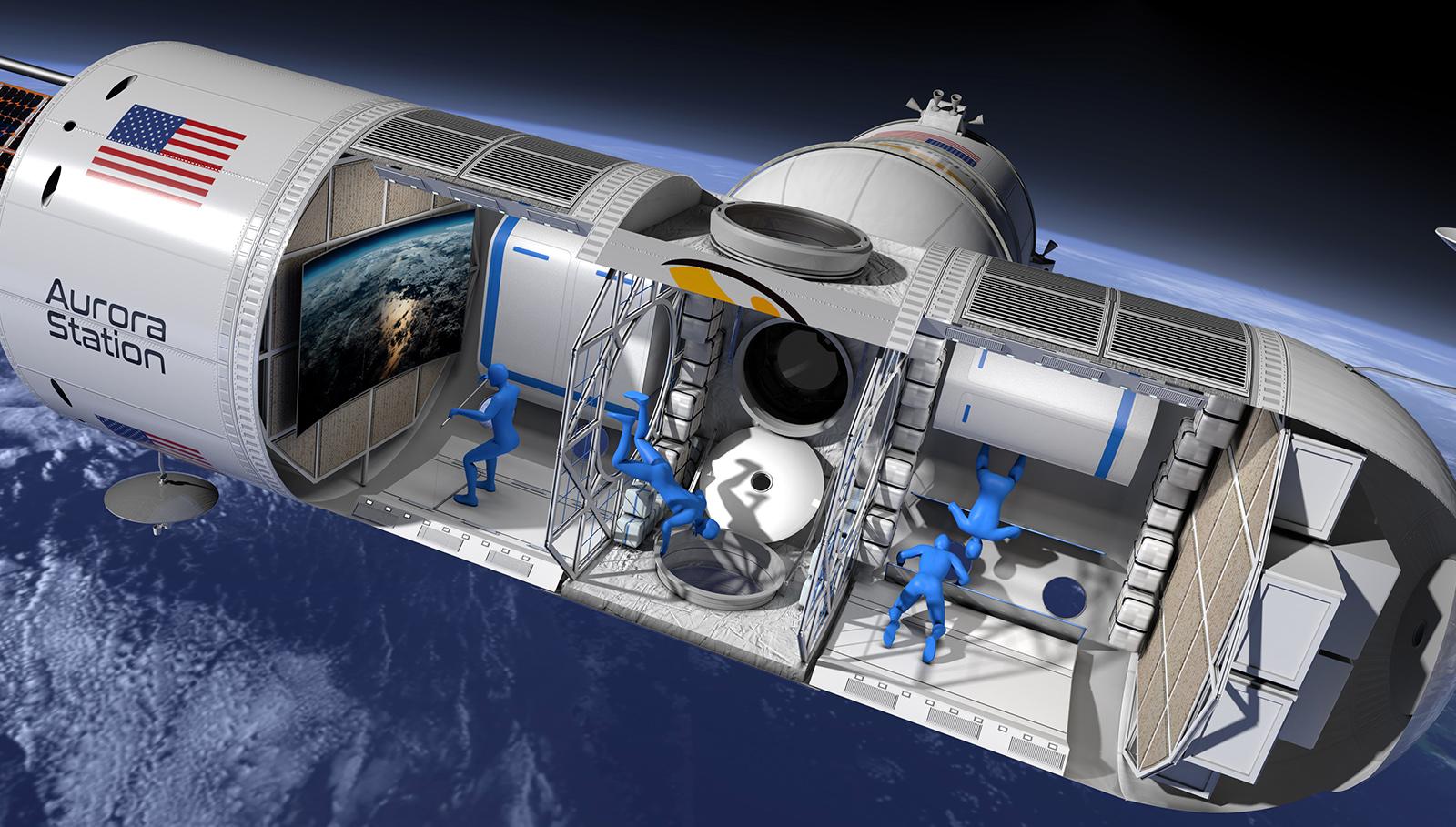 Aurora Station: la prima nave per vacanze spaziali a 800 mila dollari al giorno