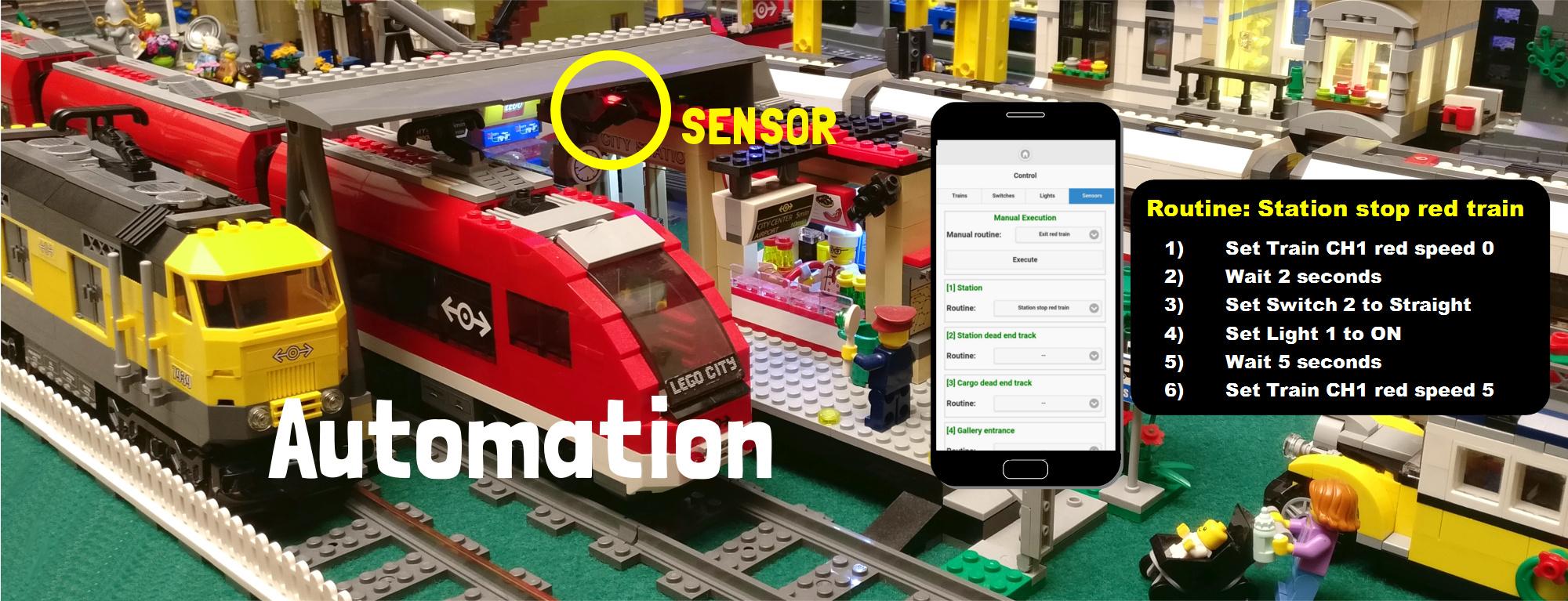 Il progetto ArduTrain per controllare i vostri diorami LEGO Train