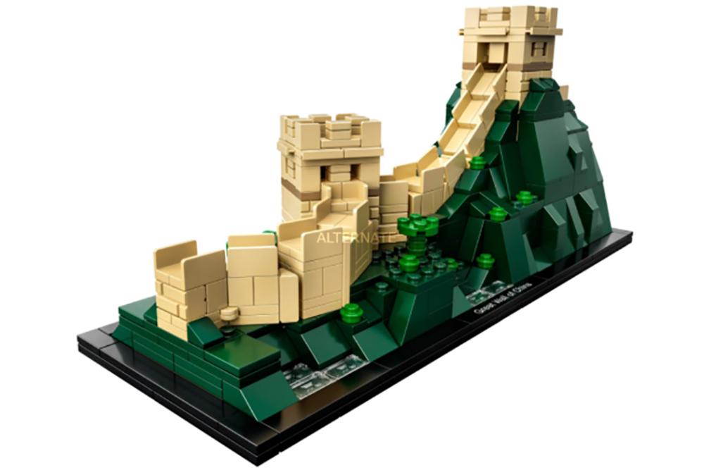 I set LEGO Architecture della Statua della Libertà e della Grande Muraglia Cinese