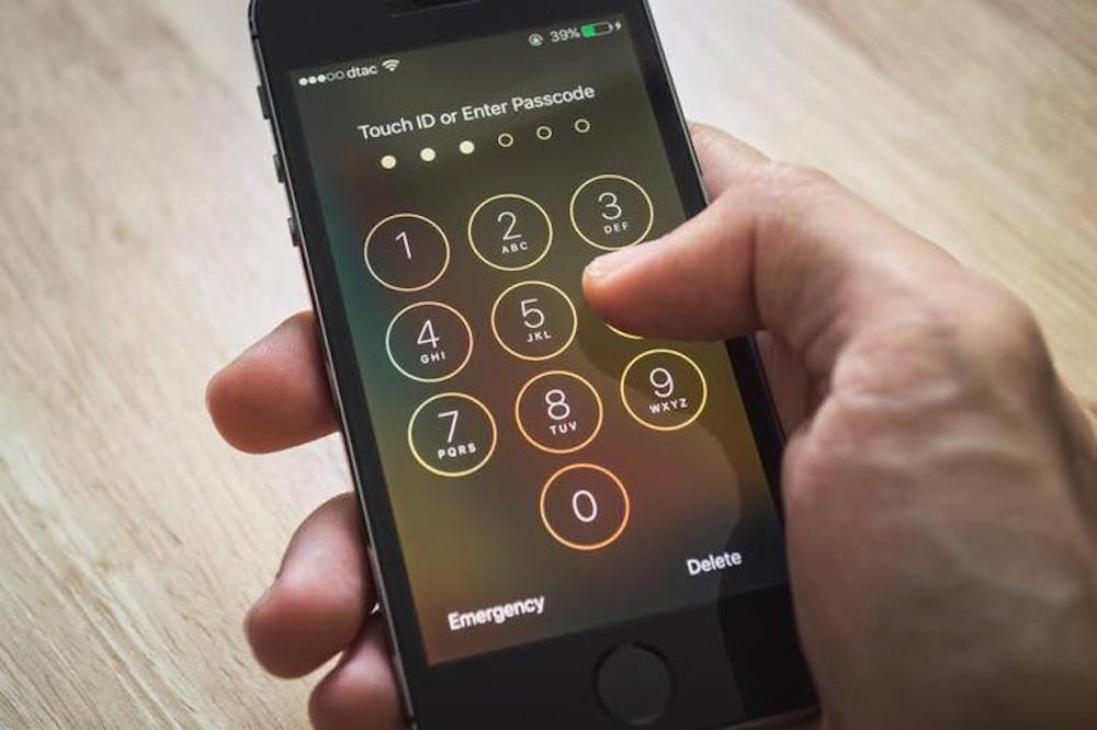 Il codice a 6 cifre dell'iPhone può essere sbloccato in 11 ore