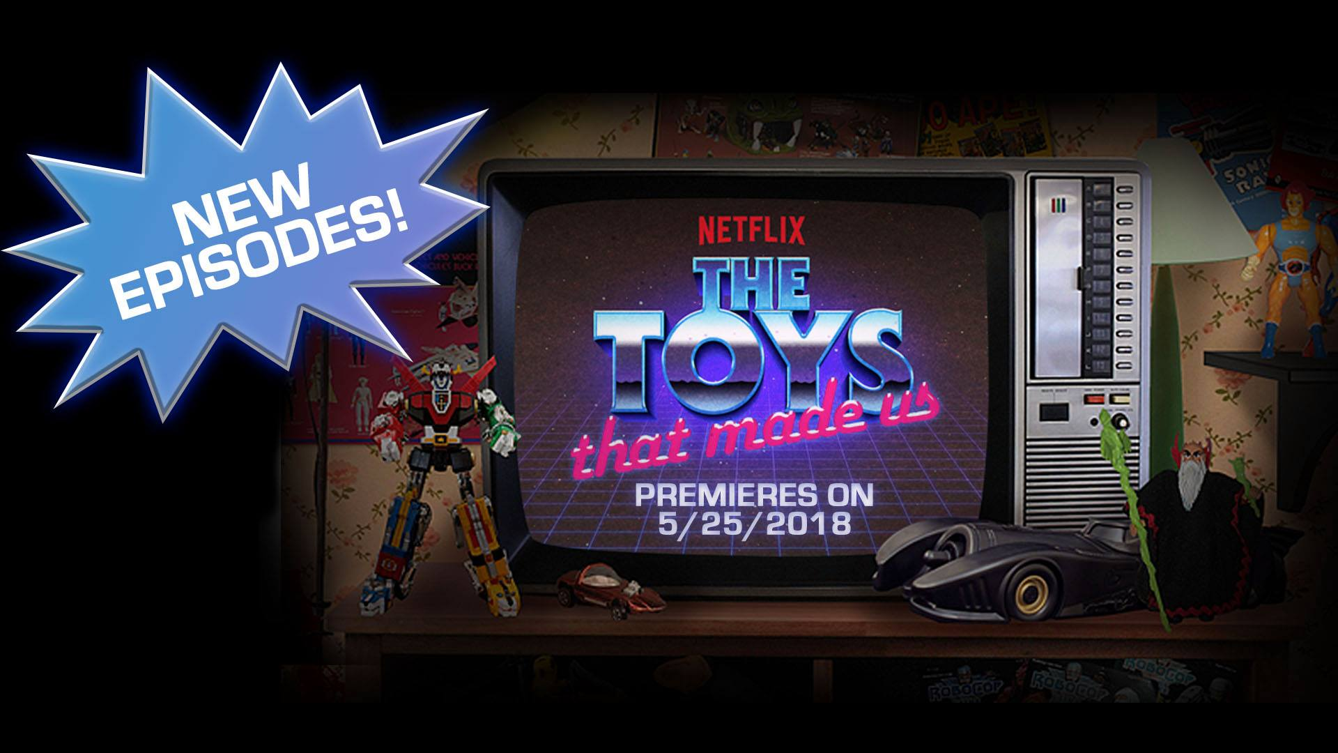 The Toys That Made Us torna con la seconda stagione il 25 maggio su Netflix
