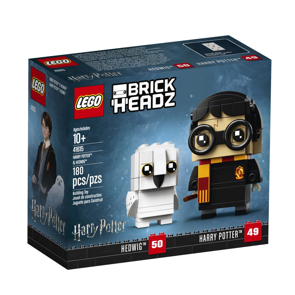 I nuovi Brickheadz di Harry Potter entrano in scena