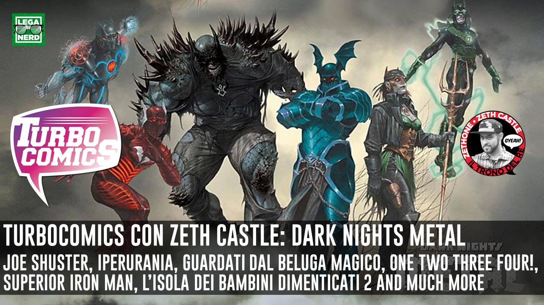 Turbocomics: DarK Nights Metal il multiverso oscuro di Scott Snyder