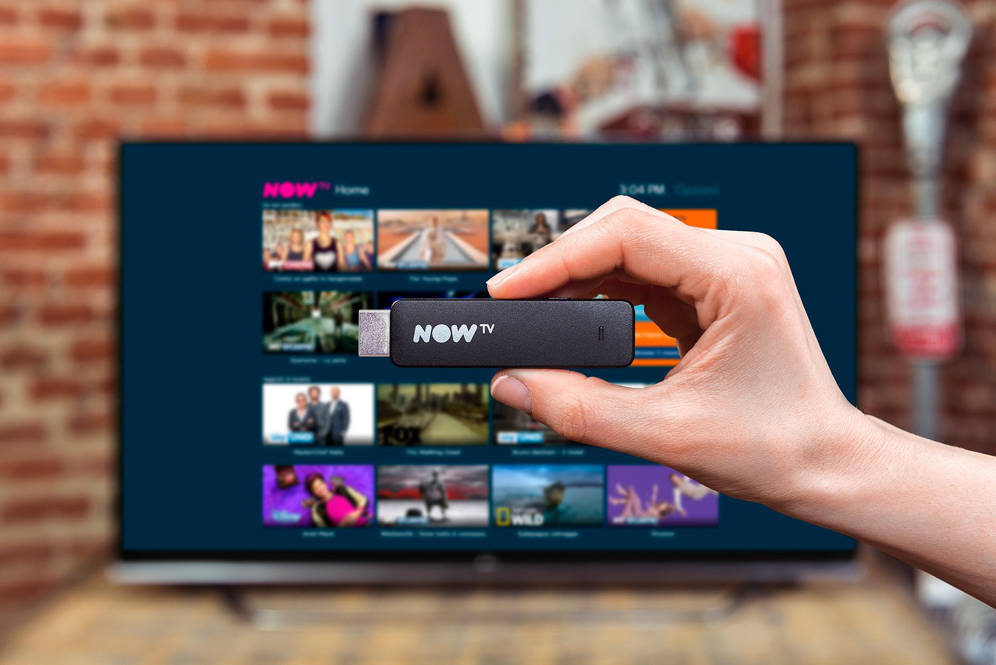 Sky ha presentato la nuova Now TV e il suo Smart Stick