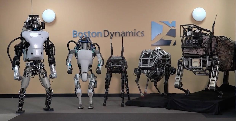 I robot di Boston Dynamics si mostrano in nuovi video