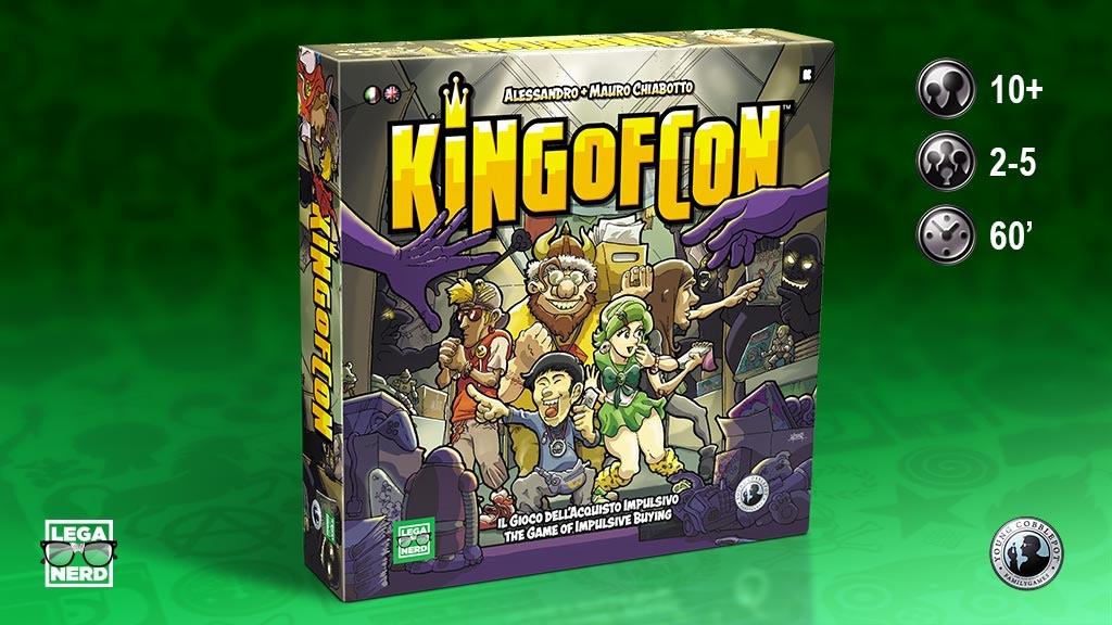 King of Con ora disponibile su Kickstarter!