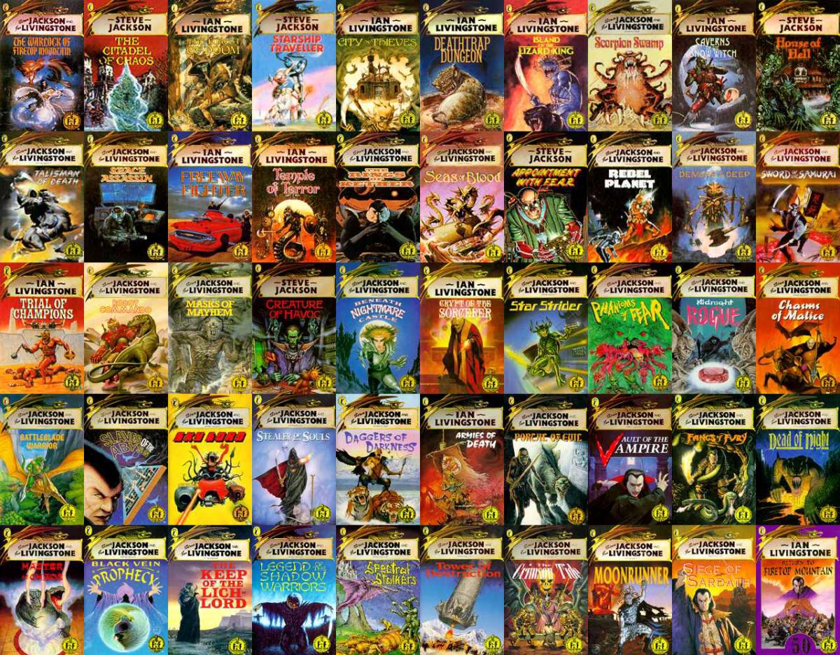 Ritornano i librogame della collana Fighting Fantasy
