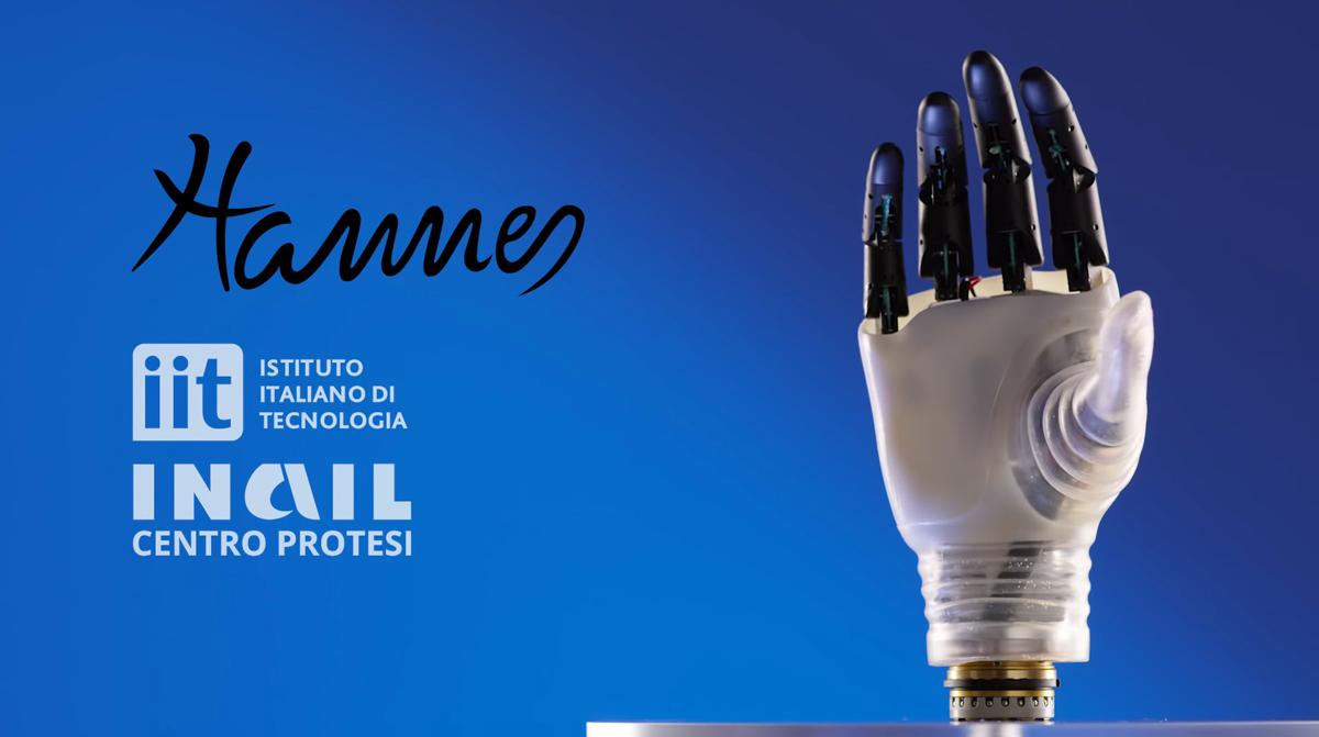 Hannes, la mano robotica tutta italiana