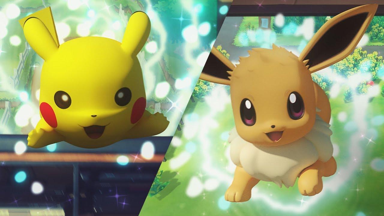 Svelati Pokémon Let's Go Pikachu e Let's Go Eveee