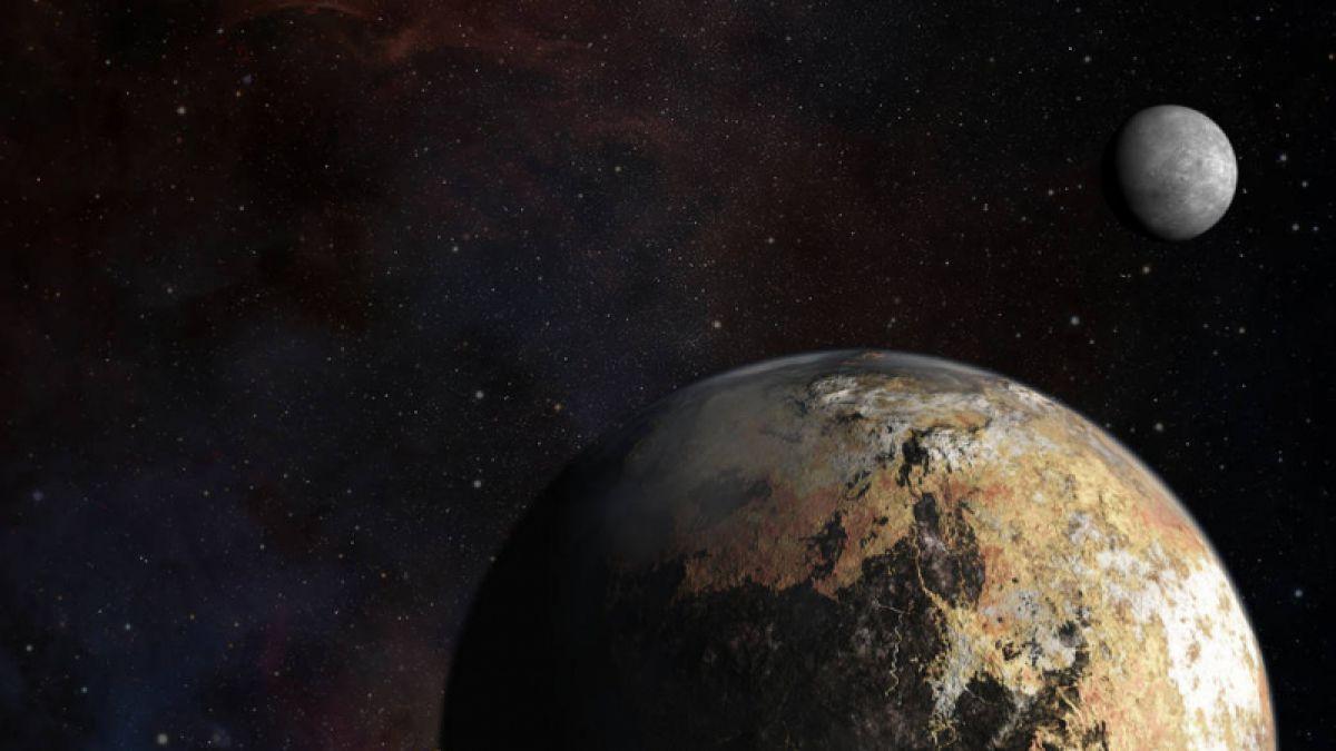 Plutone potrebbe essere una cometa gigante