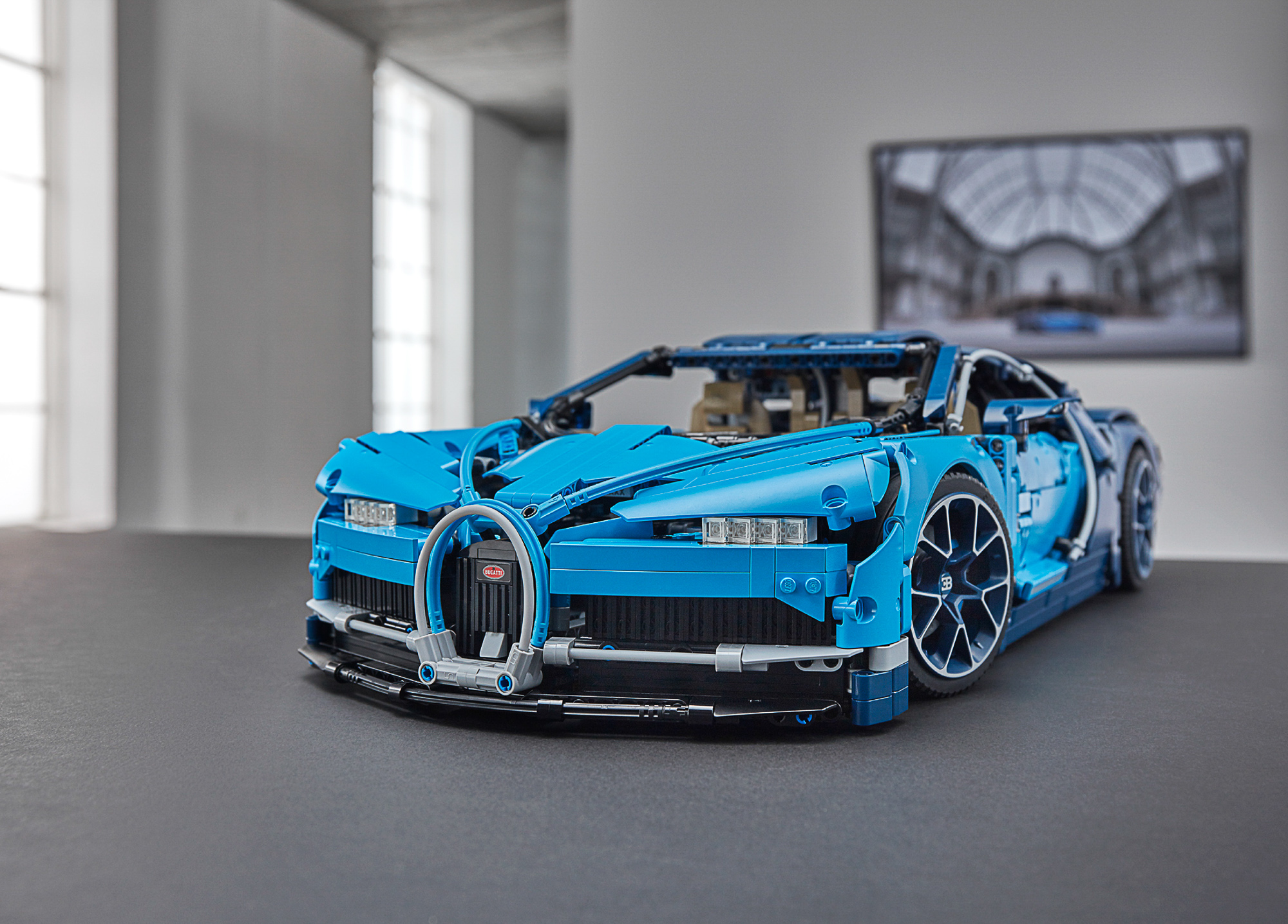 annunciata ufficialmente la bugatti chiron lego 42083. Black Bedroom Furniture Sets. Home Design Ideas