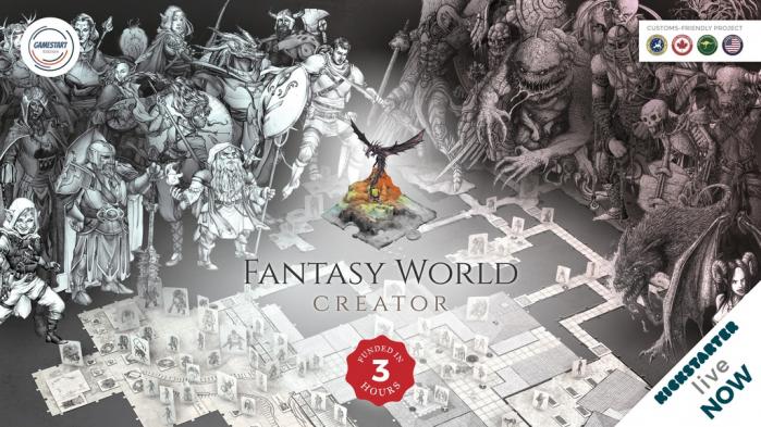 Fantasy World Creator: un supporto completo per i giocatori di ruolo