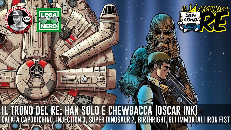 Il Trono Del Re: Han Solo e Chewbacca tornano a volare in libreria