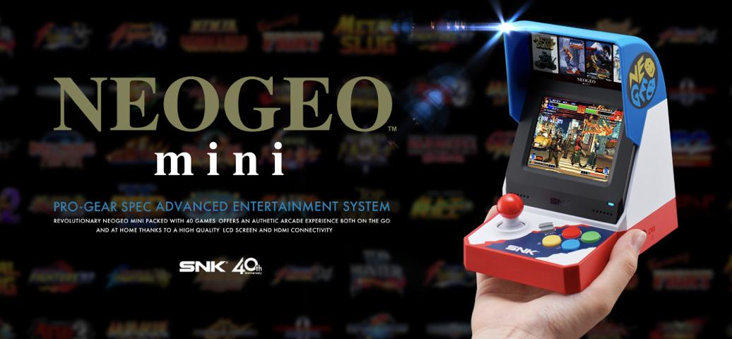 Neo Geo Mini in preordine per il Giappone a circa 97 euro, in vendita dal 24 luglio