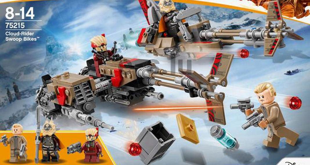 Un nuovo set dal film SOLO e i LEGO Brickheadz della trilogia classica di Star Wars
