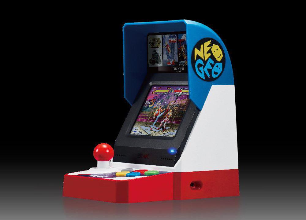 Neo Geo Mini: la prova in anteprima all'E3 di Los Angeles