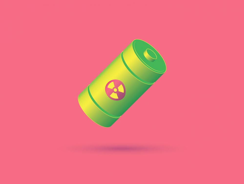 Creato un prototipo di batteria nucleare che batte le batterie comuni
