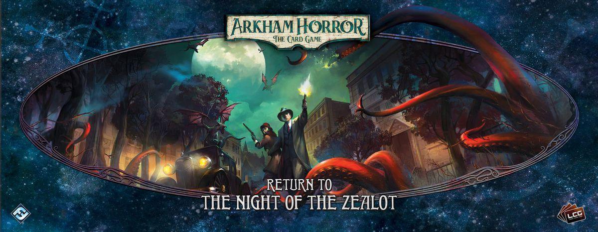 Disponibile Ritorno a... la Notte della Zelota, espansione della campagna base di Arkham Horror