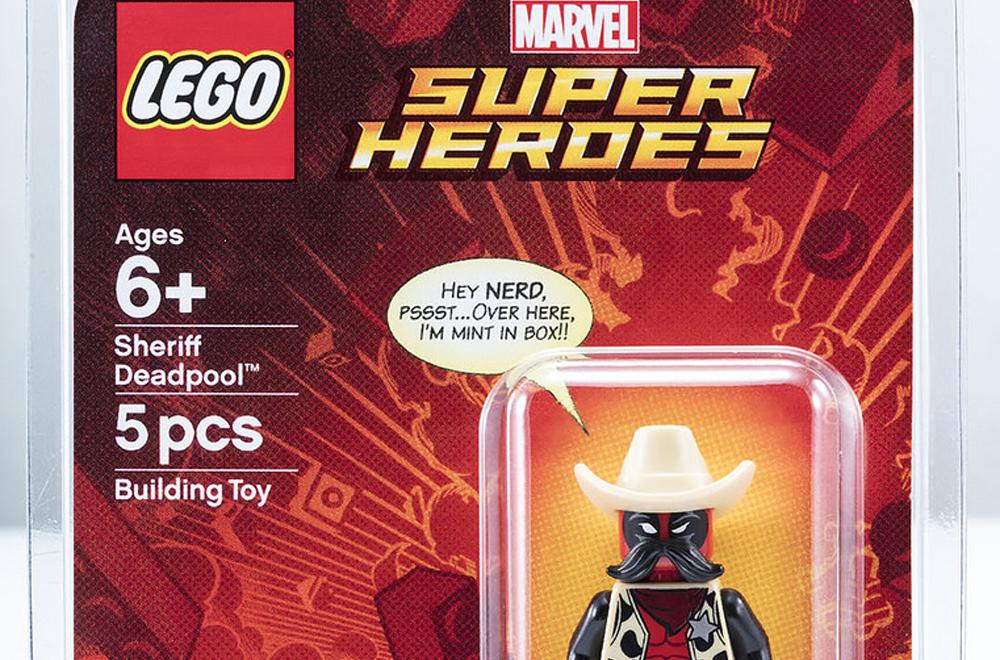 Lo sceriffo Deadpool in esclusiva LEGO al Comic-Con
