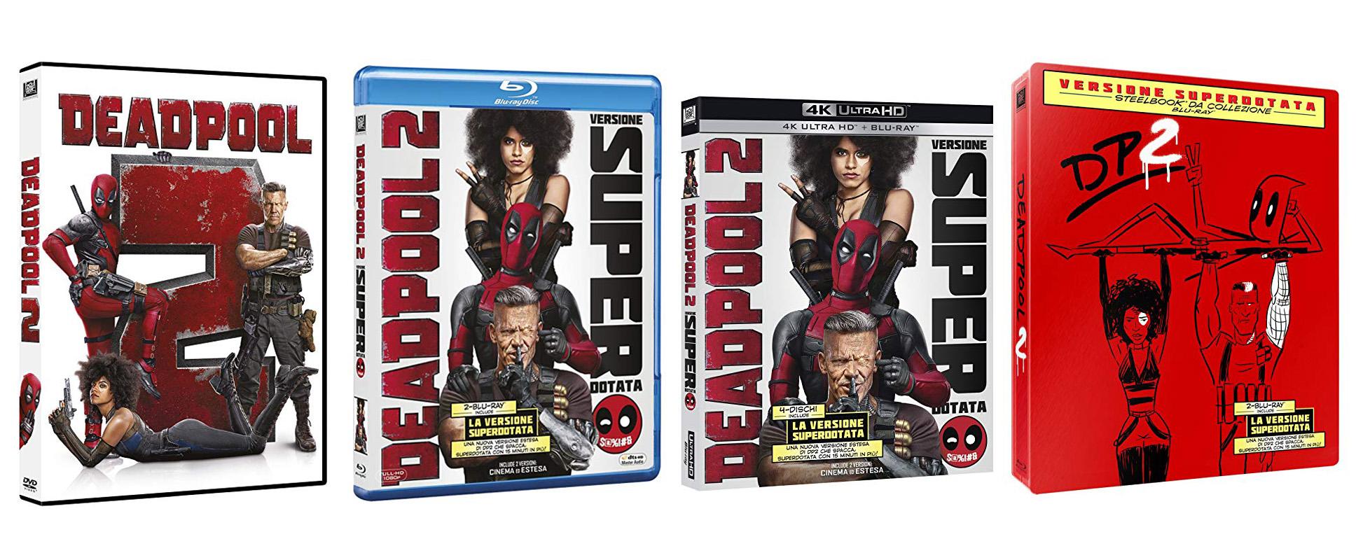 """Deadpool 2: La versione """"superdotata"""" in arrivo in home video"""