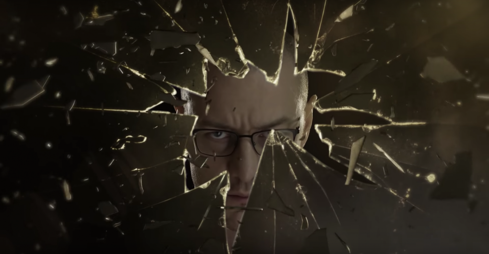 James McAvoy nel breve teaser del trailer di Glass