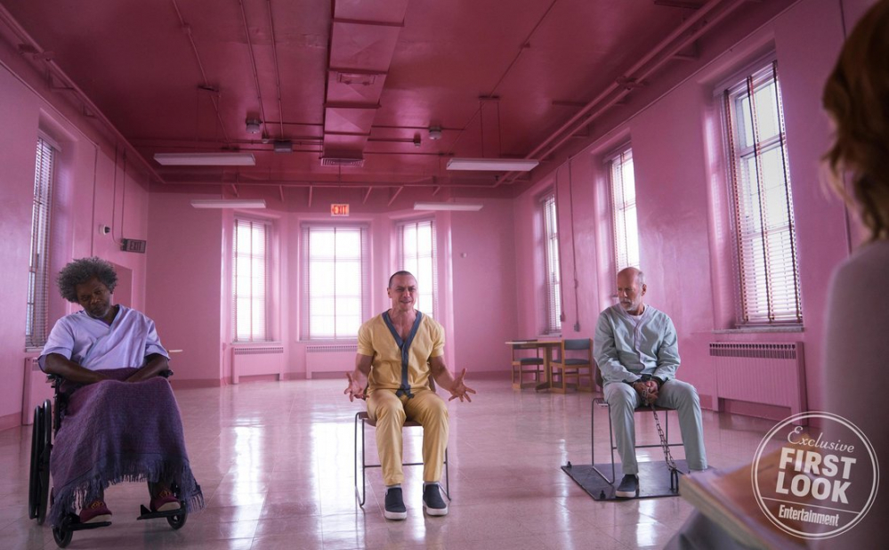 Glass: Le prime foto ufficiali del film di M. Night Shyamalan
