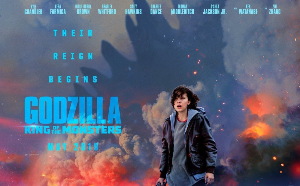 Millie Bobby Brown incredibile nel teaser trailer di Godzilla: King of Monsters