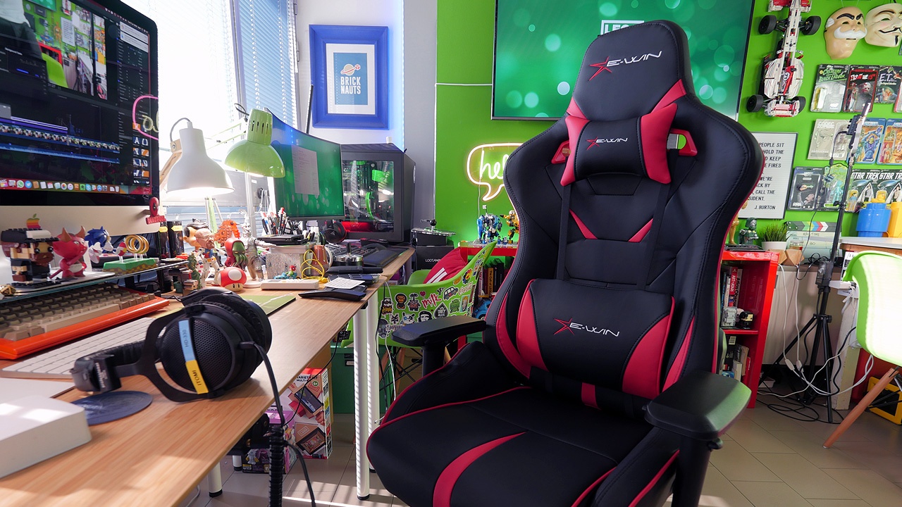 E win flash series la sedia da gaming al top ma costosa for Sedia da gaming