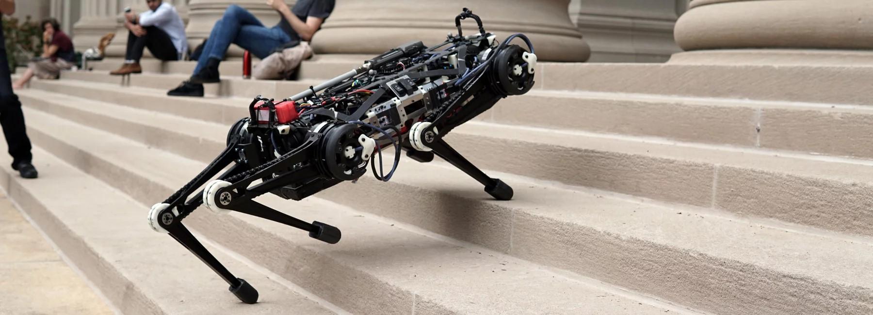 """Il MIT crea un cane robot """"cieco"""""""