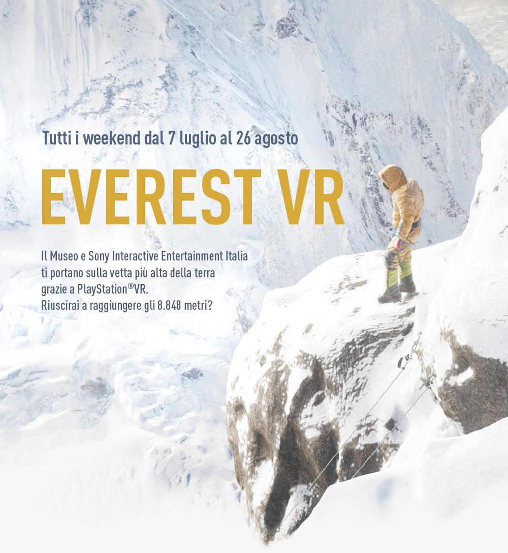 Everest VR al Museo della Scienza e della Tecnologia di Milano
