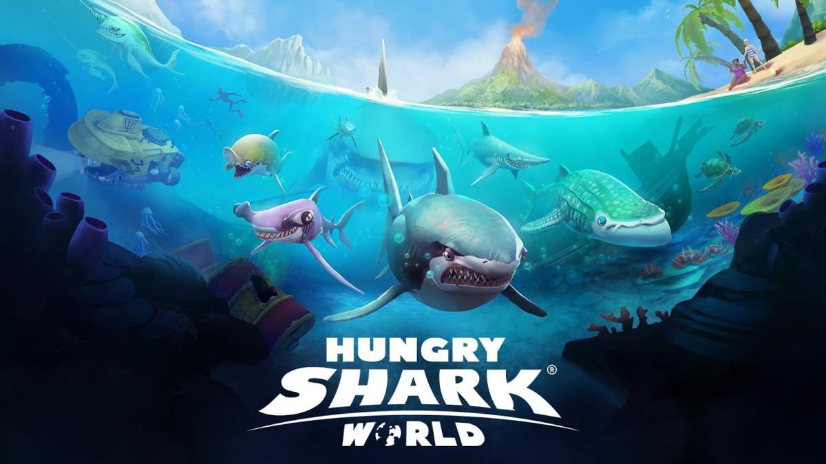 Hungry Shark World arriva a luglio su console