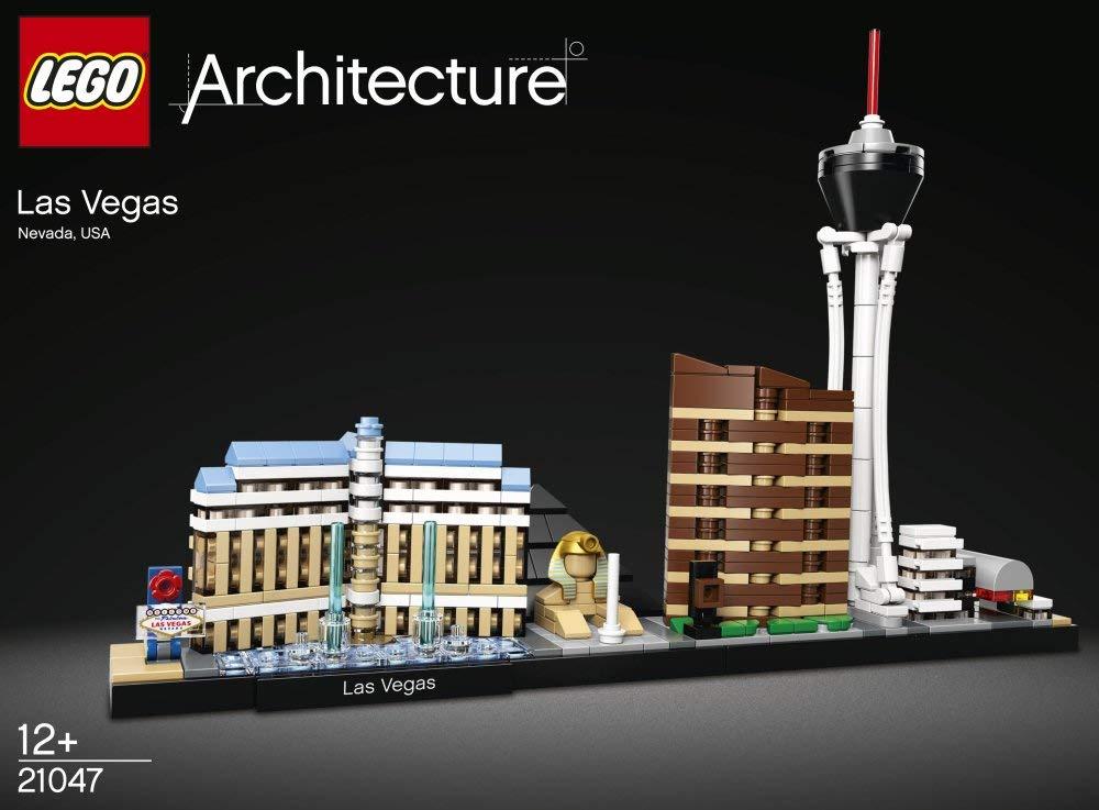 Immagini ufficiali del nuovo set LEGO Architecture Las Vegas 21047