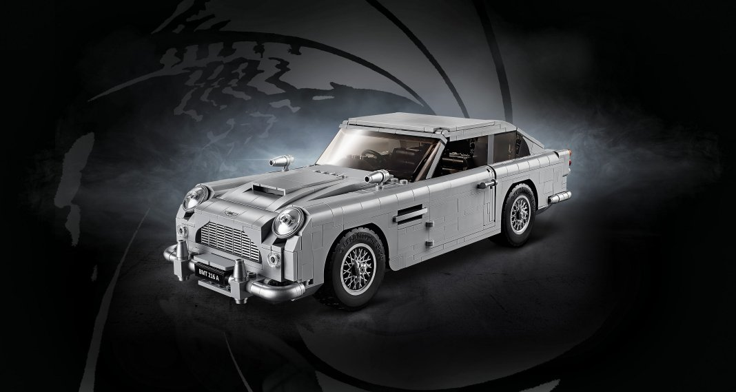Ufficiale il set LEGO Creator Expert 10262 della Aston Martin DB5 di James Bond