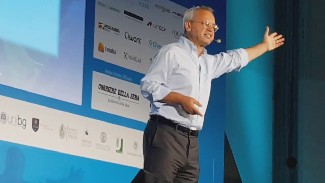 Campus Party: Enrico Mentana presenta il suo nuovo progetto editoriale